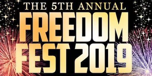 The 5th Annual Freedom Fest at Pier 15
