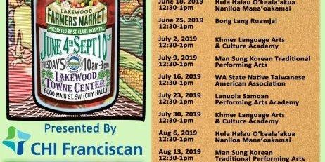 Lakewood's Farmers Market, Presented by CHI Franciscan