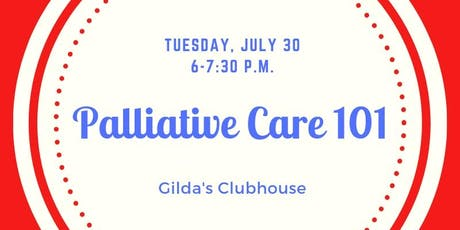 PALLIATIVE CARE 101 tickets