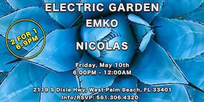 Electric Garden Emko w/ Nicolas