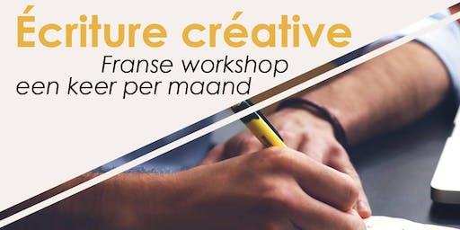 Atelier d'écriture créative en français - Franse workshop
