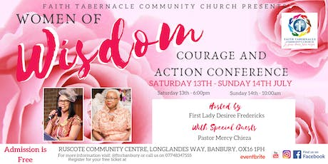 Women of Wisdom,Courage and Action Conference tickets