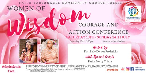 Women of Wisdom,Courage and Action Conference
