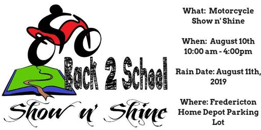 Back 2 School Show n' Shine