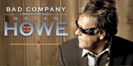 Brian Howe of Bad Company