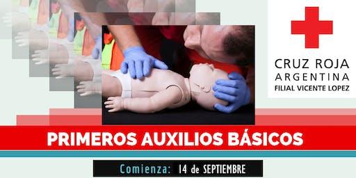 Curso de Primeros Auxilios Pediatricos,14 de Septiembre (14 a 19hs)