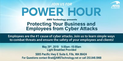 Protect your Business and Employees From Cyber Attacks!