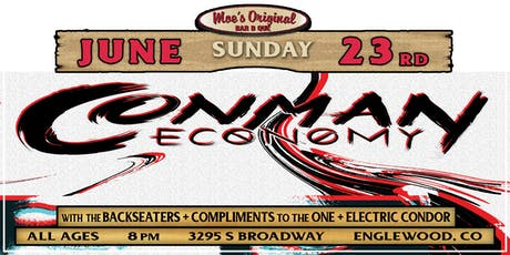 Conman Economy at Moe's Original BBQ Englewood tickets