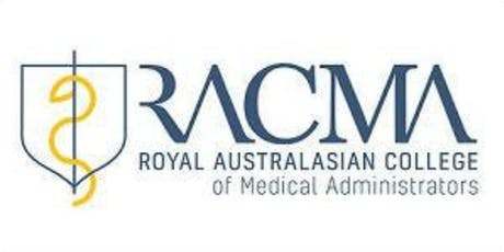 2019 RACMA Victoria Annual Scientific Meeting tickets