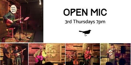 3rd Thursday Open Mic tickets