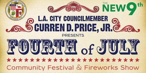 4th of July Community Festival & Fireworks Show