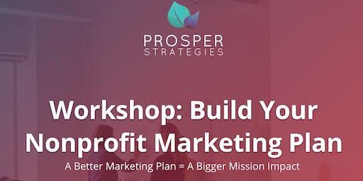 Workshop: Build Your Nonprofit Marketing Plan