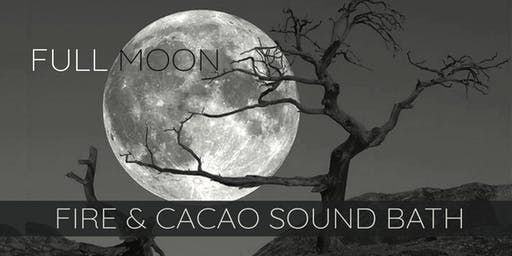 Full Hunter's Moon ~ Cacao & Fire Ceremony Sound Bath