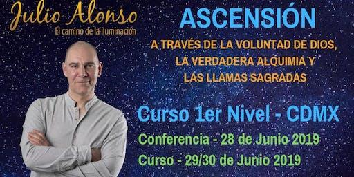 Curso de Ascension. Descubre a través de la voluntad de Dios...