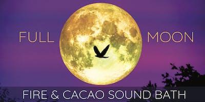 Full Beaver Moon ~ Cacao & Fire Ceremony Sound Bath