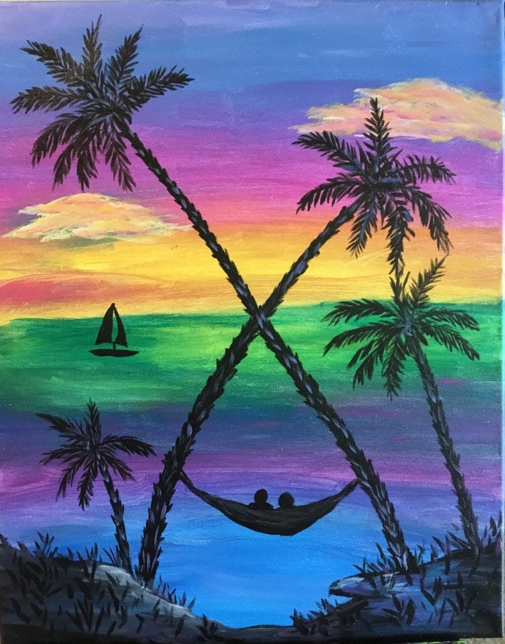 BYOB Paint Night - Tropical Sunset