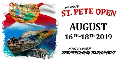 2019 St. Pete Open Spearfishing Tournament tickets