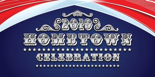 Sponsor Registration for the 2019 Hometown Celebration