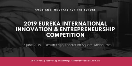 Eureka International Innovation & Entrepreneurship Competition tickets