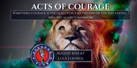 Speaker Slam: Courage tickets