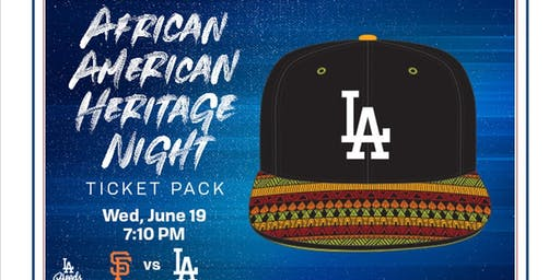 LAABP: 2019 AFRICAN AMERICAN HERITAGE NIGHT AT DODGERS STADIUM