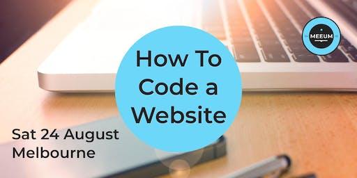 How To Code a Website