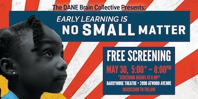 No Small Matter Documentary Screening