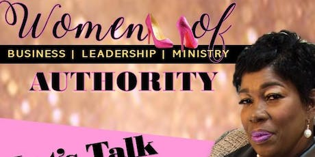 Women of Authority Business Leadership & Mnistry tickets