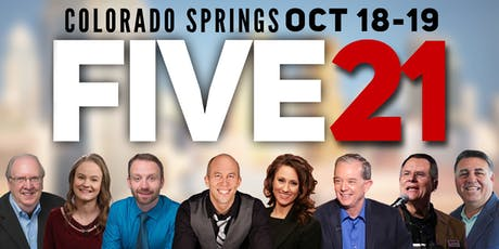 FIVE 21 Conference tickets