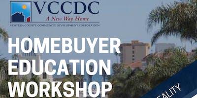 VCCDC & Ventura Housing Authority - Homebuyer Education Workshop August 2019