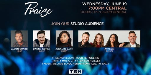 TN - Jason Crabb hosts Danny Gokey, Avalon & Jekalyn Carr