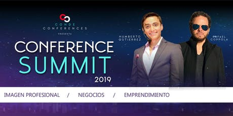 Conference Summit 2019 boletos
