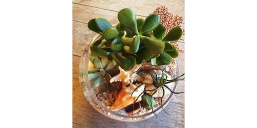 7/22 - Sip & Succulent Terrarium @ Hidden Vine Bistro