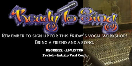 ReadyToSing Voice Lessons Workshop tickets