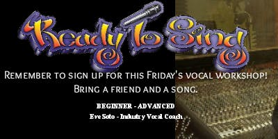 ReadyToSing Voice Lessons Workshop