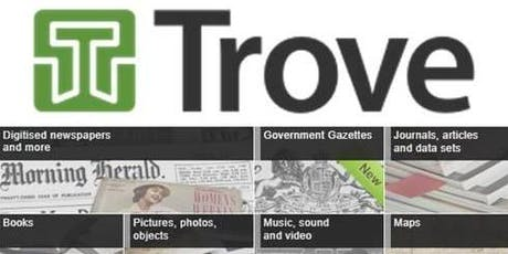 FAMILY HISTORY | Treasures on Trove tickets