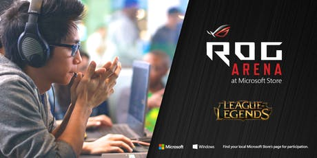 ROG Arena - League Of Legends Tournament tickets
