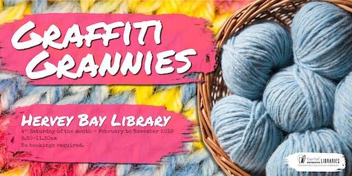 Graffiti Grannies - Hervey Bay Library
