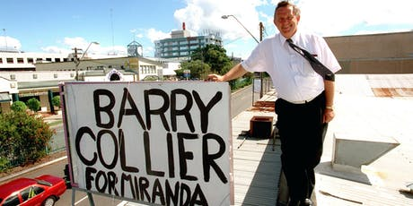 Barry Collier presents Collier for Miranda | Sutherland tickets