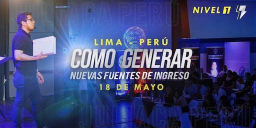CONFERENCIA GRATUITA -  COMO GENERAR FUENTES DE INGRESO de ingreso
