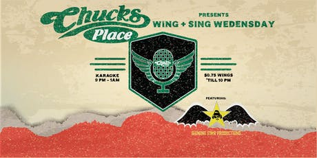 Wings + Sing Karaoke Night tickets