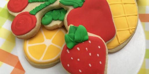 Cookie Decorating: Fruit Basket Cookies at Fran's Cake and Candy Supplies
