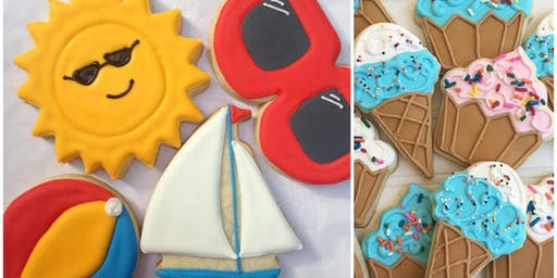 Cookie Decorating: Sunny Summer Sugar Cookies at Fran's Cake and Candy Supplies