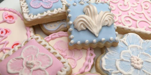 Cookie Decorating: Pride & Prejudice Sugar Cookies at Fran's Cake and Candy Supplies