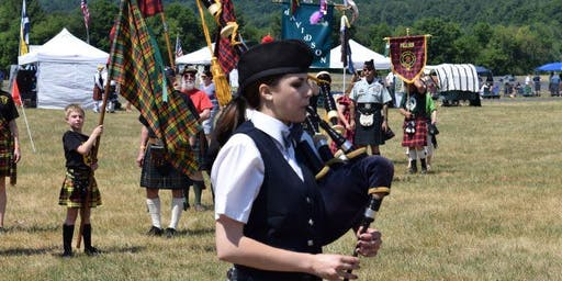 95th Connecticut Round Hill Highland Games Solo Registration (Piping, Drumming, Drum Major)