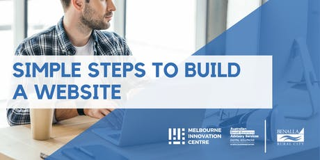 Simple Steps to Building a Website - Benalla  tickets