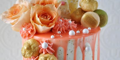 Cake Decorating Class: Buttercream Watercolor Cake Class  at Fran's Cake and Candy Supplies
