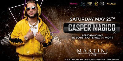 Casper Magico Live in Chicago
