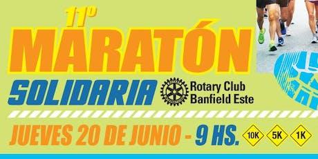 11va Carrera Solidaria, Rotary Club Banfield Este. entradas
