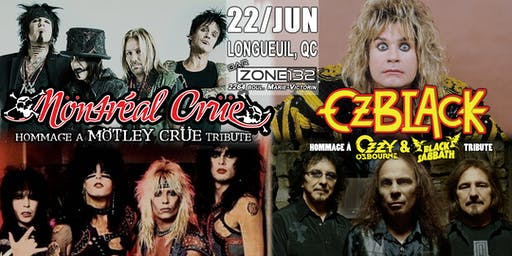 MÖTLEY CRÜE and OZZY & BLACK SABBATH tributes -by Möntréal Crüe and OzBlack